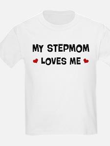 Stepmom loves me T-Shirt