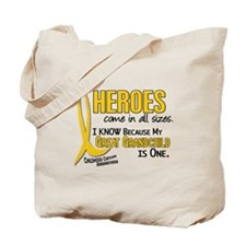 Heroes All Sizes 1 (Great Grandchild) Tote Bag