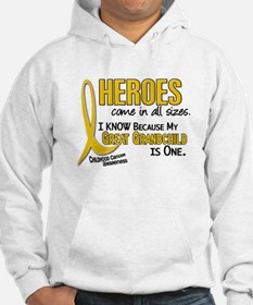 Heroes All Sizes 1 (Great Grandchild) Hoodie