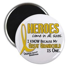 Heroes All Sizes 1 (Great Grandchild) Magnet