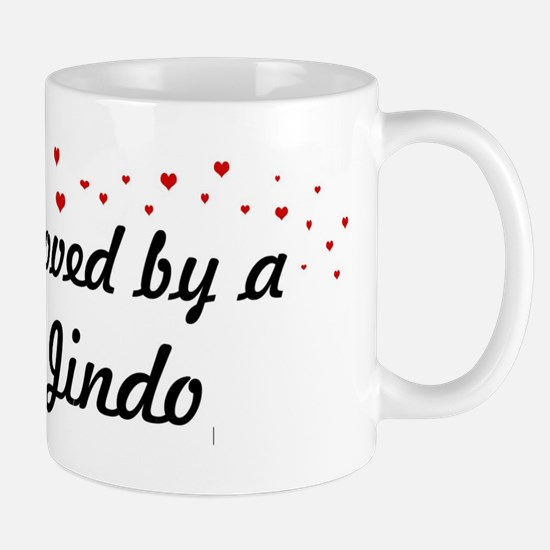 Loved By Jindo Mug