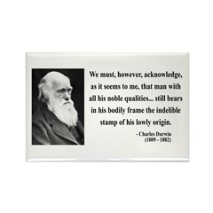 Charles Darwin 2 Rectangle Magnet (100 pack)