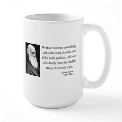 Charles Darwin 2 Large Mug
