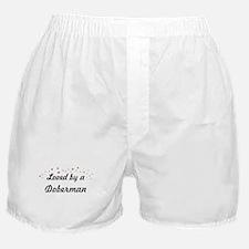 Loved By Doberman Boxer Shorts