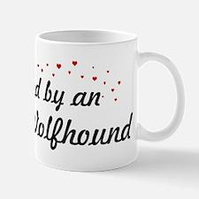 Loved By Irish Wolfhound Mug