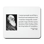Charles Darwin 3 Mousepad