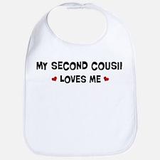 Second Cousin loves me Bib
