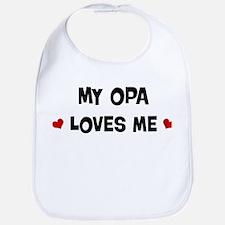 Opa loves me Bib