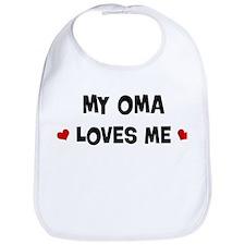 Oma loves me Bib