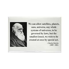 Charles Darwin 5 Rectangle Magnet (100 pack)