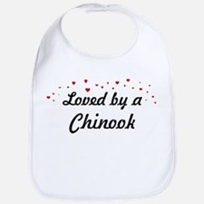 Loved By Chinook Bib