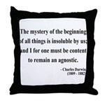 Charles Darwin 7 Throw Pillow