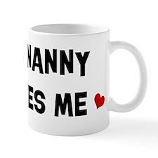 Nanny loves me Mug