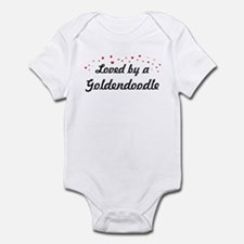 Loved By Goldendoodle Infant Bodysuit