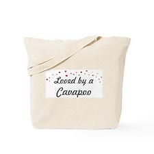 Loved By Cavapoo Tote Bag