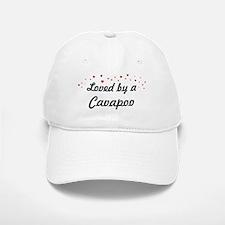 Loved By Cavapoo Baseball Baseball Cap