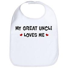 Great Uncle loves me Bib