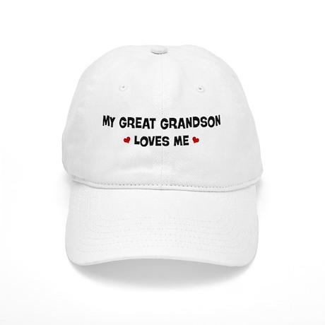 Great Grandson loves me Cap