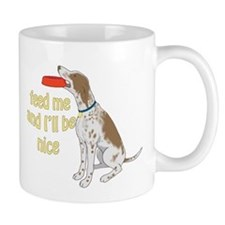 red tick hound begging Mug