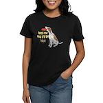 red tick hound begging Women's Dark T-Shirt