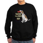 red tick hound begging Sweatshirt (dark)