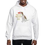 red tick hound begging Hooded Sweatshirt