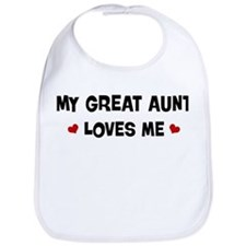 Great Aunt loves me Bib
