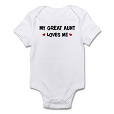 Great Aunt loves me Infant Bodysuit