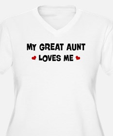 Great Aunt loves me T-Shirt