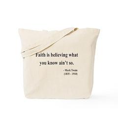 Mark Twain 19 Tote Bag