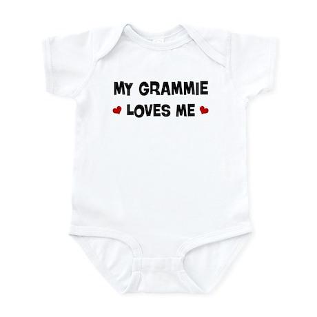 Grammie loves me Infant Bodysuit