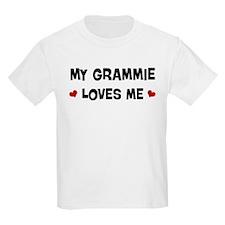 Grammie loves me T-Shirt