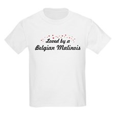 Loved By Belgian Malinois T-Shirt
