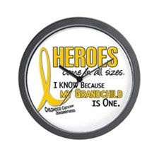 Heroes All Sizes 1 (Grandchild) Wall Clock