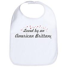 Loved By American Brittany Bib