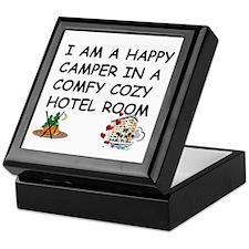 I AM A HAPPY CAMPER Keepsake Box