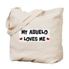 Abuelo loves me Tote Bag