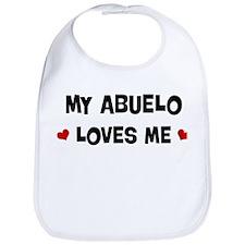 Abuelo loves me Bib