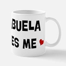 Abuela loves me Mug