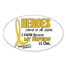 Heroes All Sizes 1 (Nephew) Oval Decal