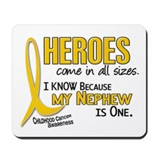 Heroes All Sizes 1 (Nephew) Mousepad