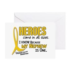 Heroes All Sizes 1 (Nephew) Greeting Card