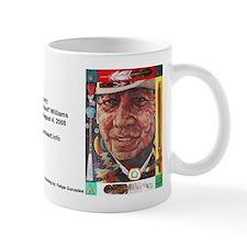 Bear Heart Memorial Small Mug