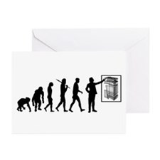 Geology Geologists Rock Hound Greeting Cards (Pk o