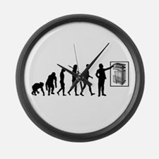 Geology Geologists Rock Hound Large Wall Clock