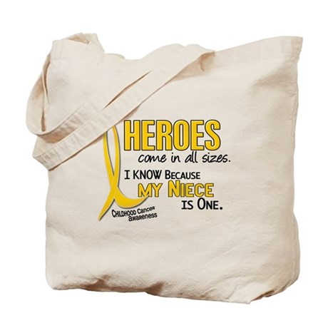 Heroes All Sizes 1 (Niece) Tote Bag