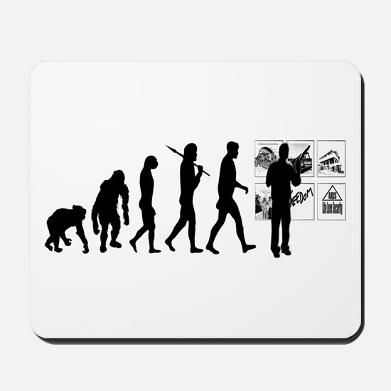 Advertising Evolution Mousepad