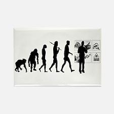 Advertising Evolution Rectangle Magnet