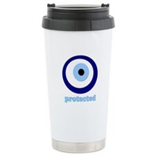protected evil eye Travel Mug
