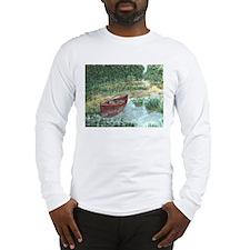 Red Canoe Long Sleeve T-Shirt